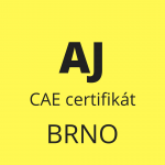AJ - CAE certifikat - Brno