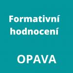 Formativní hodnocení  – 8VH (16818)