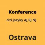 Konference cizí jazyky