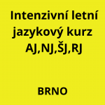 Intenzivní letní kurz Brno